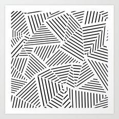 Ab Linear Zoom W Art Print