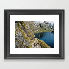 The Path to Discovery Framed Art Print