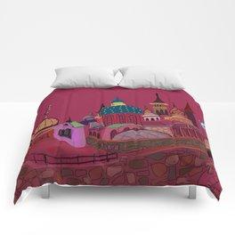 Russia in color Comforters