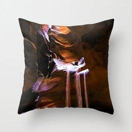 Molten Time Throw Pillow