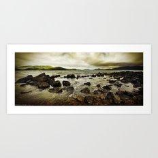 Day Dream Island Shores Art Print