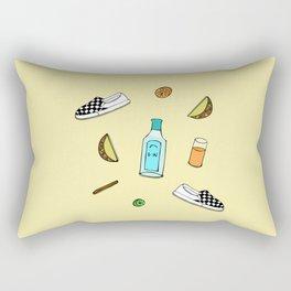 drew barrymore Rectangular Pillow