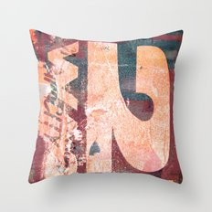 Collide 8 Throw Pillow