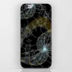 ..and down at the bottom of the ocean... iPhone & iPod Skin