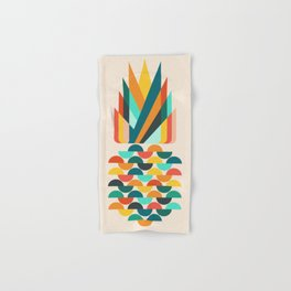Groovy Pineapple Hand & Bath Towel