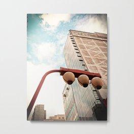 Sky and Building - Japanese Metal Print