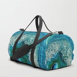 Aqua turquoise agate mineral gem stone Sporttaschen