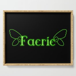 Faerie With Wings Serving Tray