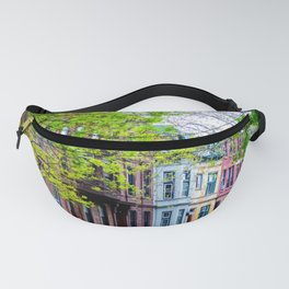 Brooklyn Rainbow Brownstones Fanny Pack