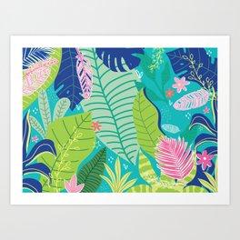 Southern Prepster Charm Art Print