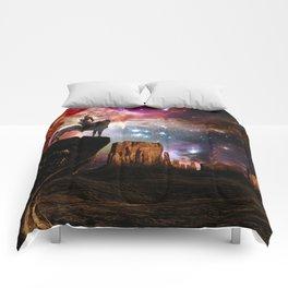 Native American Universe Comforters