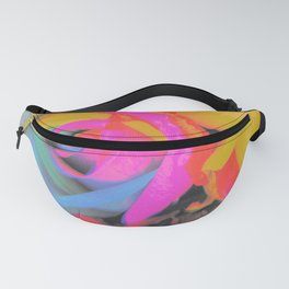 Painted Flowers Fanny Pack