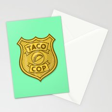 Taco Cop Stationery Cards