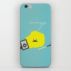 I Sulfur When You Argon iPhone & iPod Skin