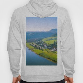Rathen and the Elbe river Hoody