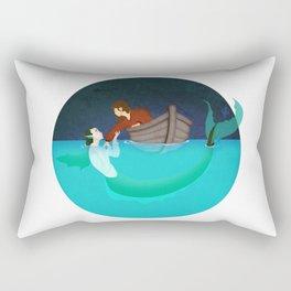 To Drown To Dream Rectangular Pillow