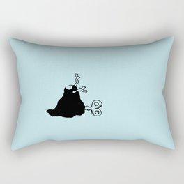 My little room - Aqua Rectangular Pillow