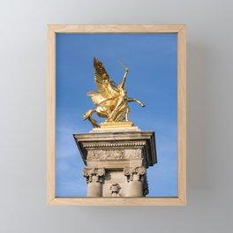 Pont Alexandre III - Paris Framed Mini Art Print