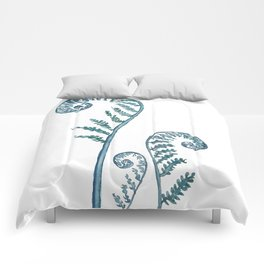 fern painting 2017 Comforters
