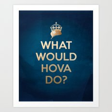 What Would Hova Do? - Jay-Z Art Print