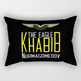 Khabib Time The Eagle Rectangular Pillow
