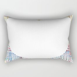 The System - large heart Rectangular Pillow