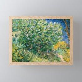 Lilacs by Vincent van Gogh Framed Mini Art Print