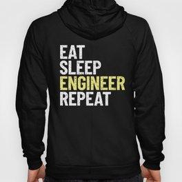 Eat Sleep ENGINEER Repeat! Hoody