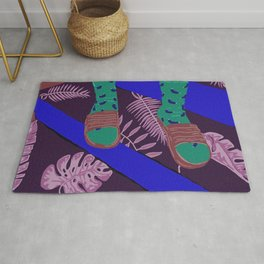 Summer-Socks & Style Inverted 2nd Edition Rug