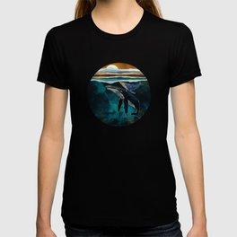 Moonlit Whales T-shirt