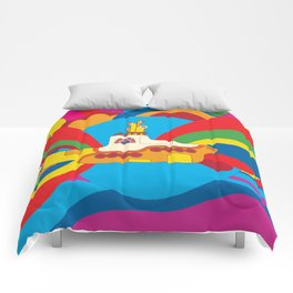 Yellow Submarine Comforters