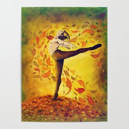 Autumnal Spirit by Mary Bottom Poster