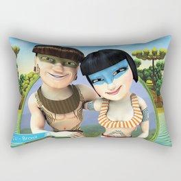 LEGEND OF IGUASSU FALLS Rectangular Pillow