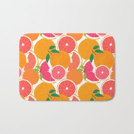 Grapefruit Harvest Bath Mat