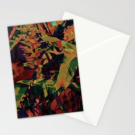 Flora Celeste Golden Sapphire Stationery Cards