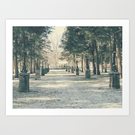 Winter's Guardians Art Print