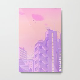 Tokyo Valentine Metal Print