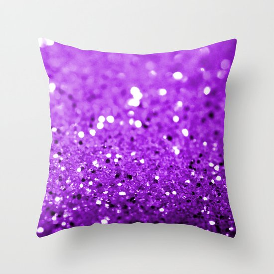 Glitter Throw Pillow