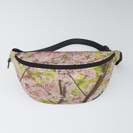 Spring Cherry Blossom Fanny Pack