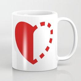 Micah Mason Foundation Red Heart Coffee Mug
