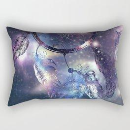Cosmic Dreamcatcher design Rectangular Pillow