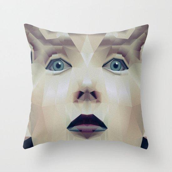 Facet_CD1 Throw Pillow
