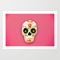 Mexican skull art II Art Print