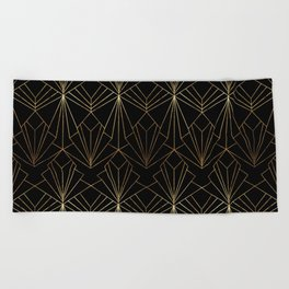 And All That Jazz - Large Scale Beach Towel