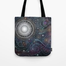 Feather Moon Tote Bag