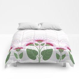 Burdock flowers Comforters