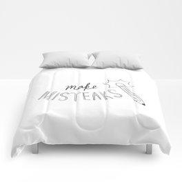 Make Misteaks Comforters