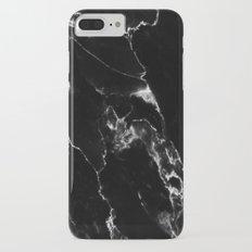 Black Marble I Slim Case iPhone 7 Plus