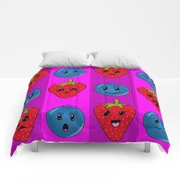 Fruit Faces Comforters