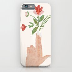 Floral Pistol Slim Case iPhone 6